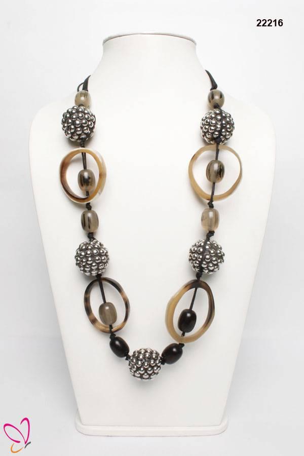 Designer Necklace, Horn Necklace