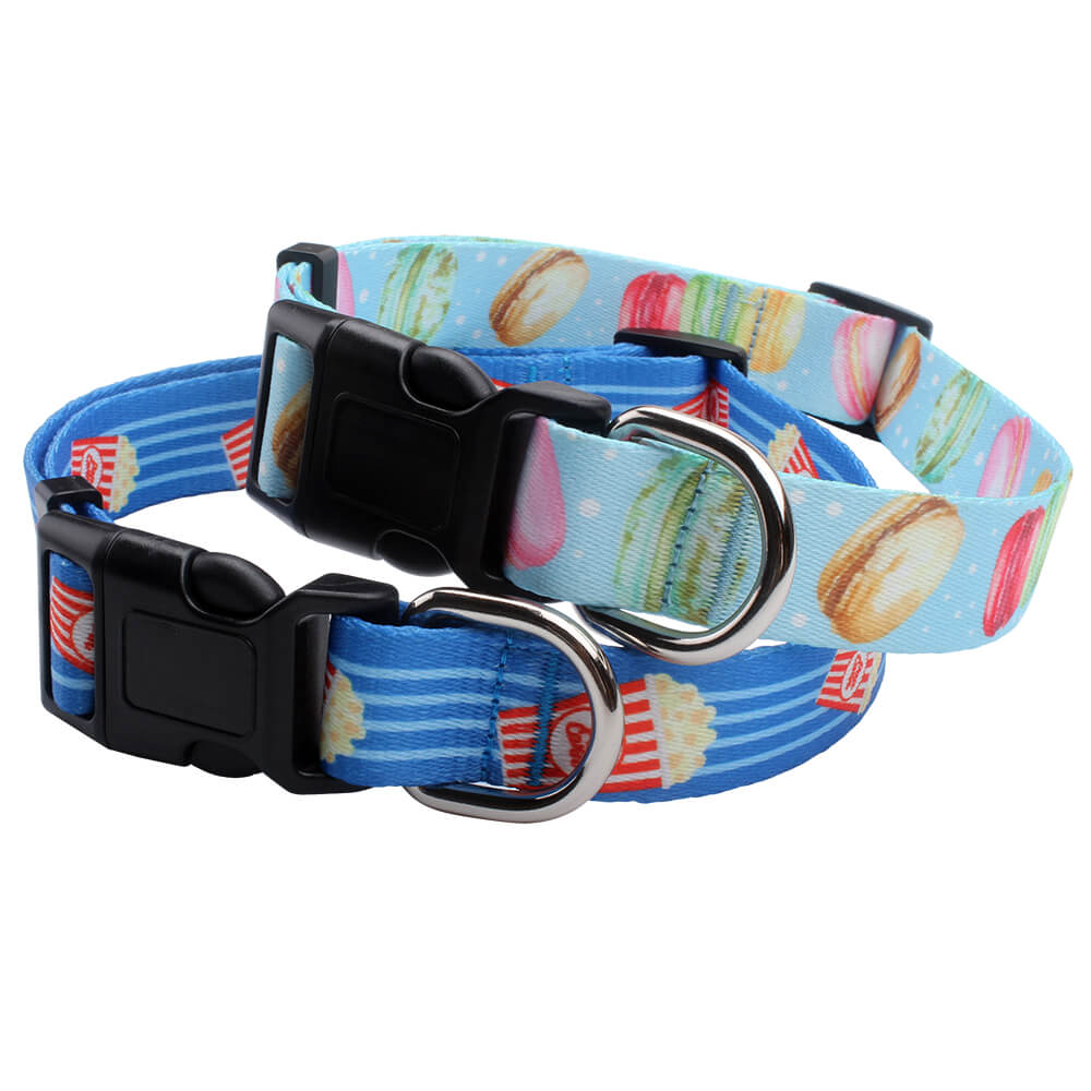 Large Dog Collars: Online sell 2.5 cm polyester dog collars factory