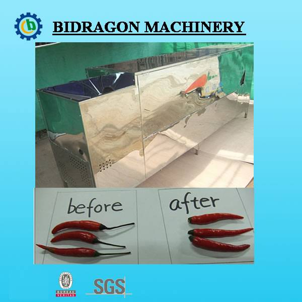 Dry Chili Stem Cutter for Chili Processing Machines