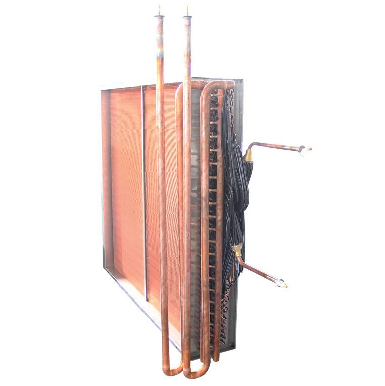Ship air conditioning heat exchanger