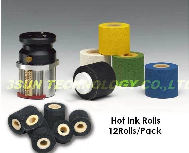 hot ink roller