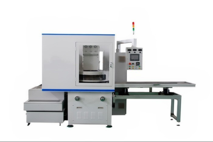Piston parts surface grinding and lapping machine