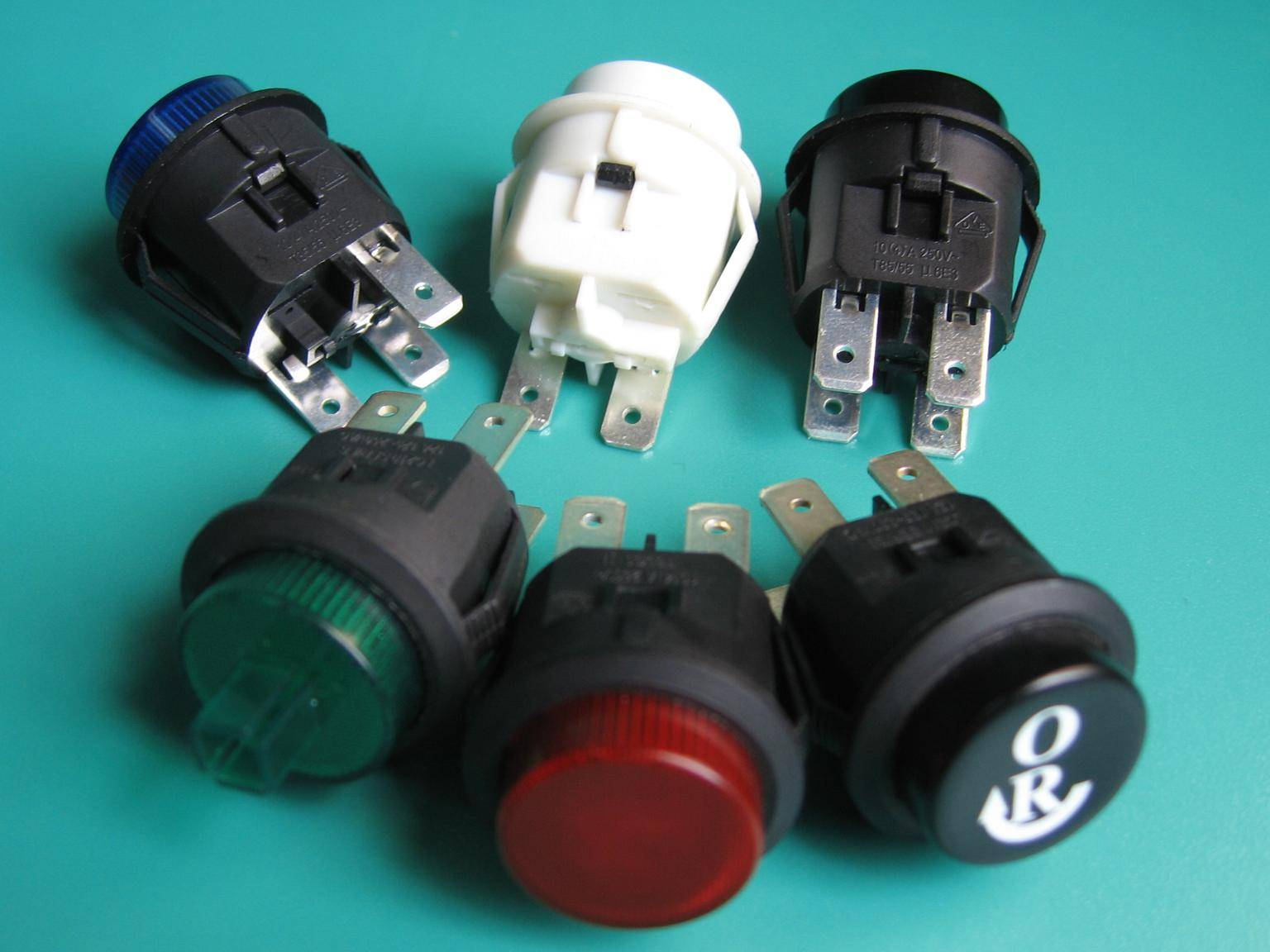 LC210 series illuminated/ none-illuminated push botton switch with UL VDE ENEC