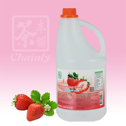 Strawberry Flavor Concentrated Syrup