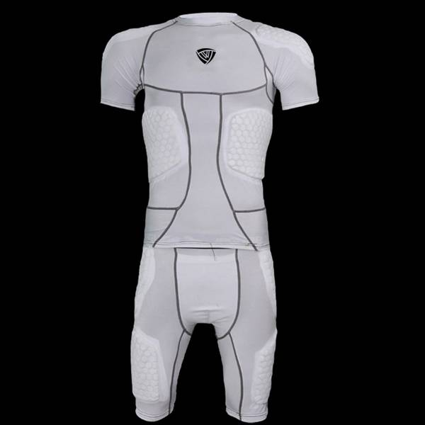 Rugby Protective Padded Compression Wear Sleeveless