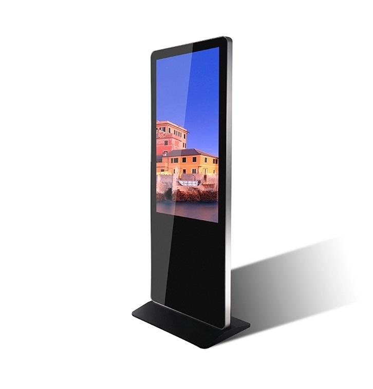 Indoor Floor Standing Touch Screen Totem Lcd Advertising Display