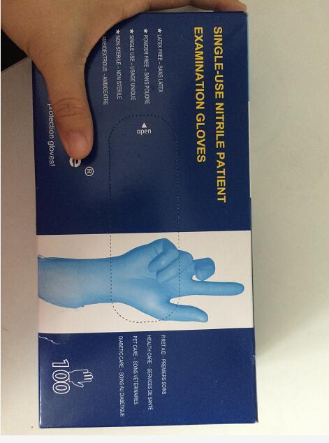 Titanfine Single-USE nitrile patient examination Disposable gloves