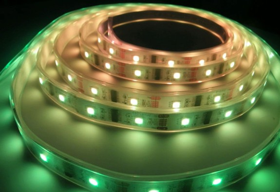 48led/m white PCB 100% waterproof IP68 5050 led ribbon light