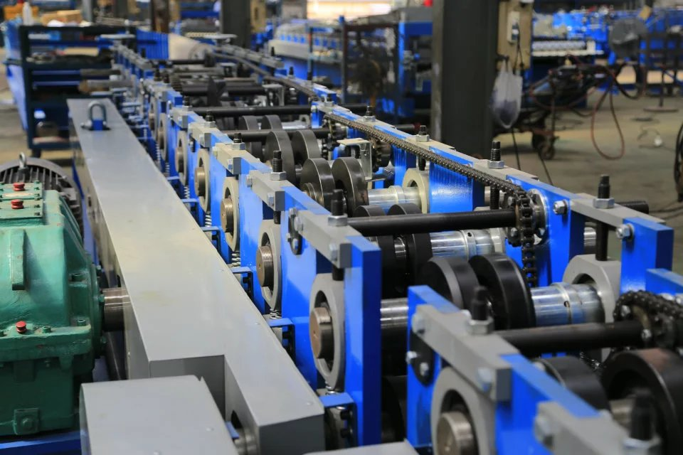 C60-250 Shaped Steel Purlin Roll Forming Machine