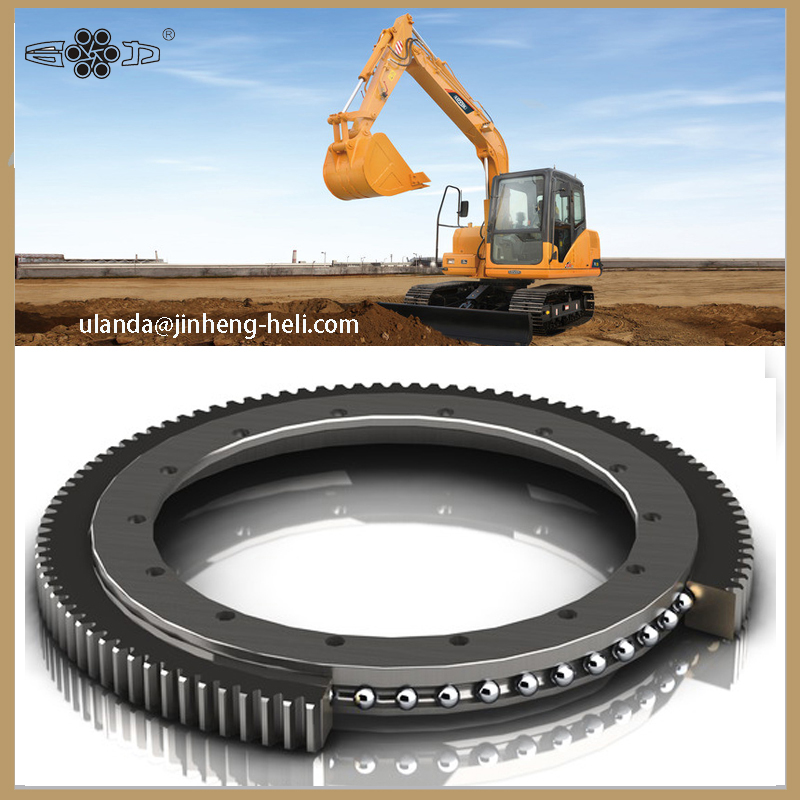 Single row slewing bearing for crane excavator 011.40.800