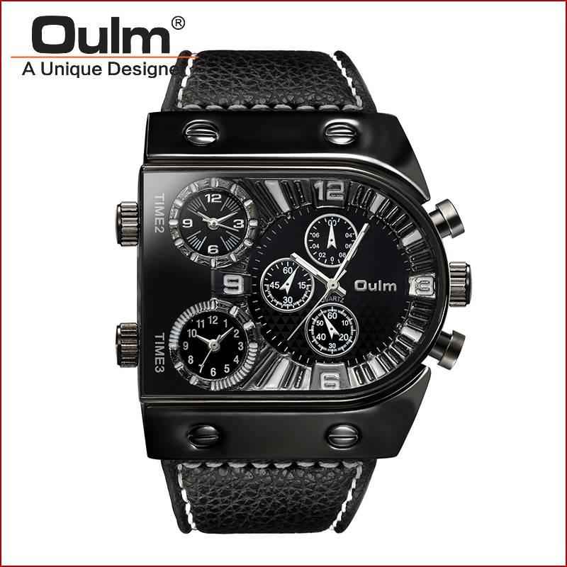 quartz oulm watch