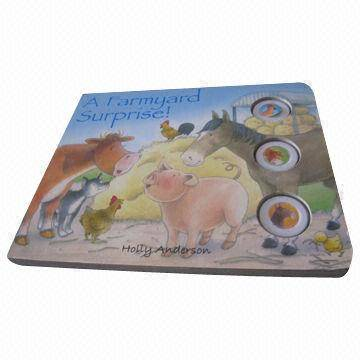 Children's Learning Animal Sound Board Book