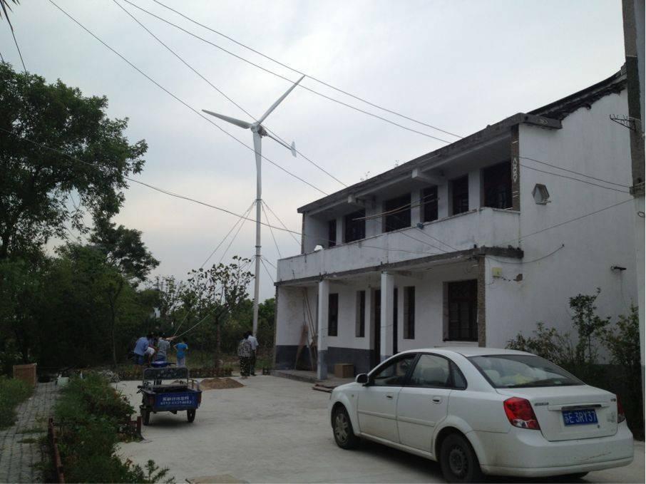 10kw horizontal wind turbine with high efficiency(100w-20kw)