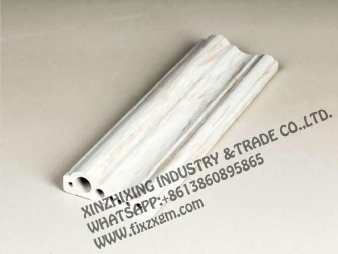 High quality PVC marble moulding
