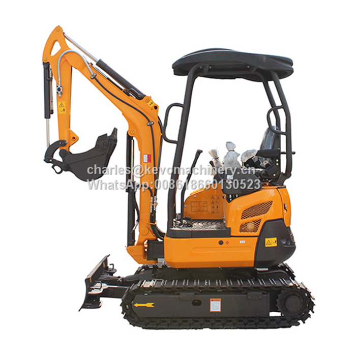 2T Mini Crawler Excavator