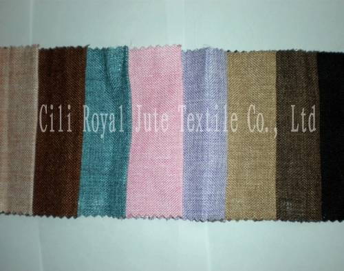 Dyed Jute Fabric