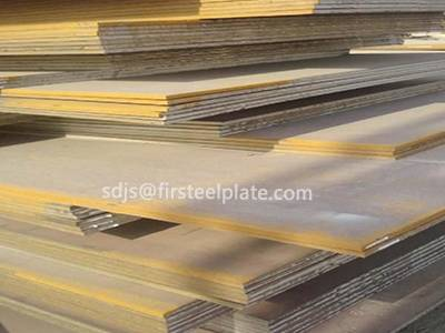 Seed Steel Provides S355J2G2W Steel Plate by High Quality