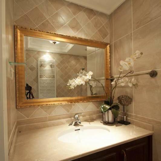 Round Competitive High Qualityt Silver Decorative Bathroom Mirror