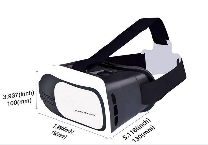 Factory Wholesale NEW 2016 3D Glasses Virtual Reality VR BOX 2.0