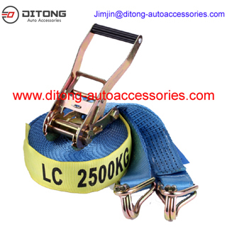 2 Inches 50MM 5T Ratchet Tie Down Cargo Lashing Belt Strap