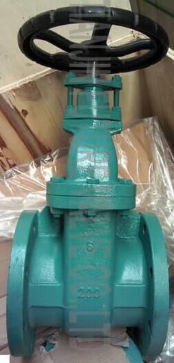 6 Inch ANSI 125/150 Non-Rising Stem Metal Seal Gate Valves