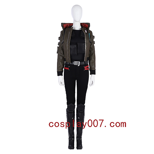 Cyberpunk 2077 woman cosplay costume role playing video game costume