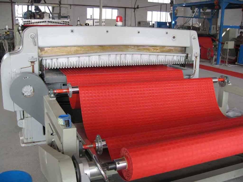 PVC floor production line