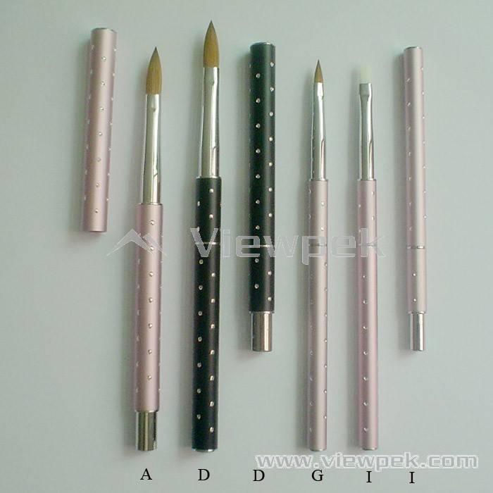 Acrylic Nail Brush Art Kolinsky Sable Brushes