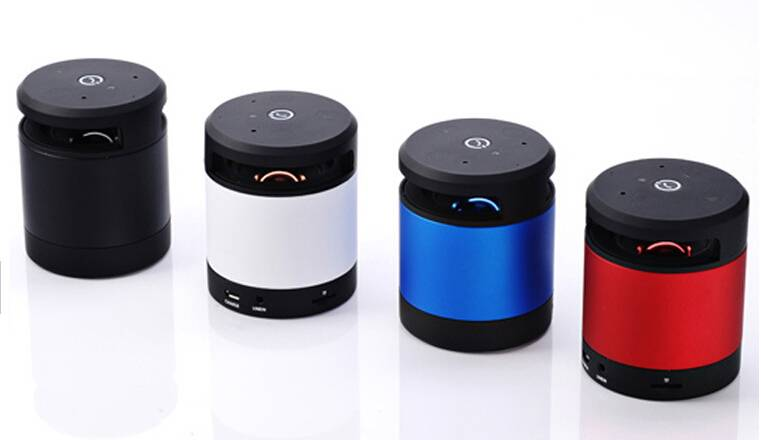 NFC Bluetooth Speaker 2014 trend gesture recognition mini bluetooth speaker with TF card reader&Audi
