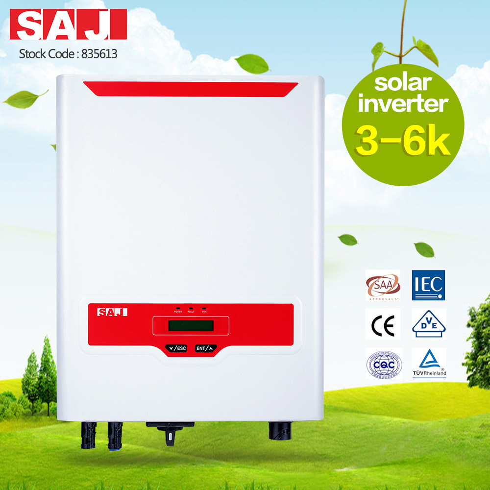 SAJ Sununo-Plus Series 3-6Kw On Grid Solar Inverter for Home System