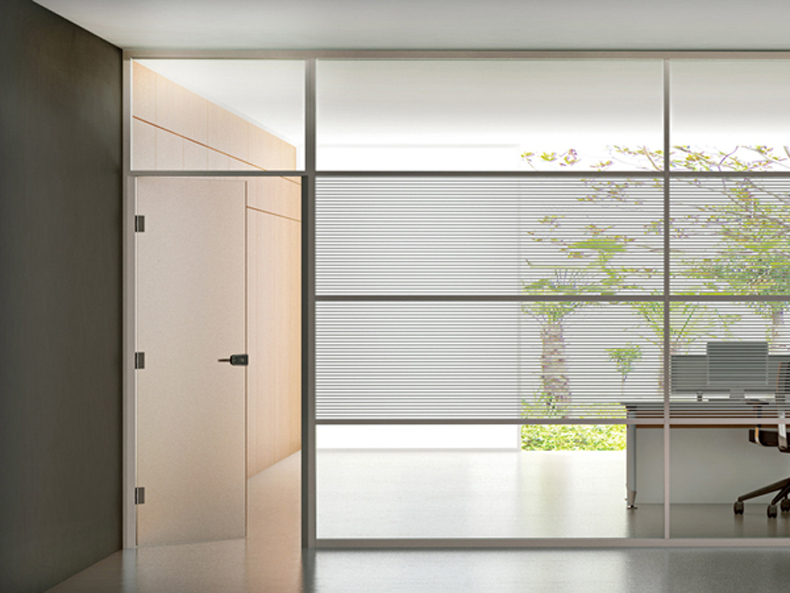 Aluminium Frame Glass Partition Cheap Price Hot Sale