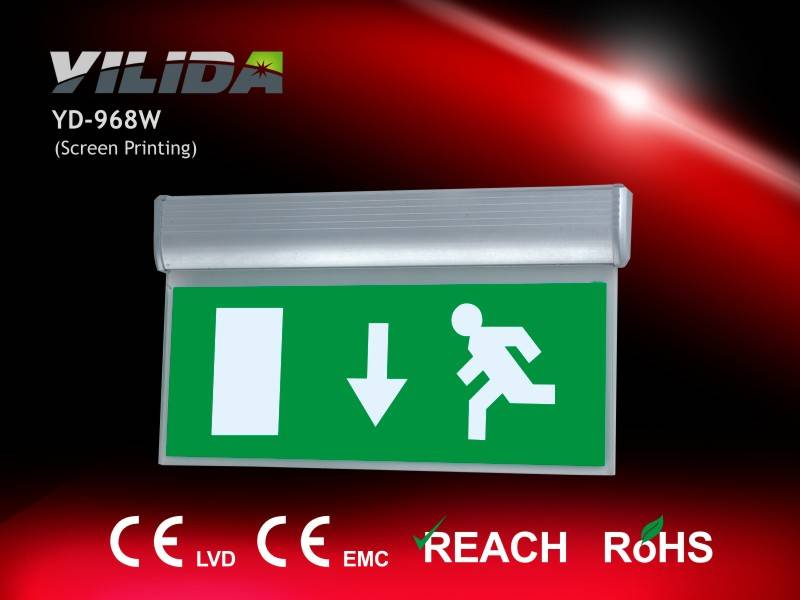 Hot Sell Emergency Exit Light CE & RoHS Approved