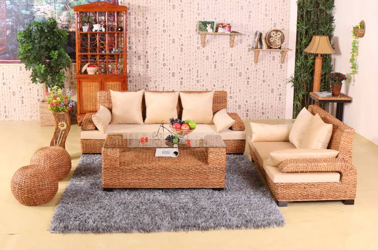 Rattan Home Living Room Furniture Sofa Sets