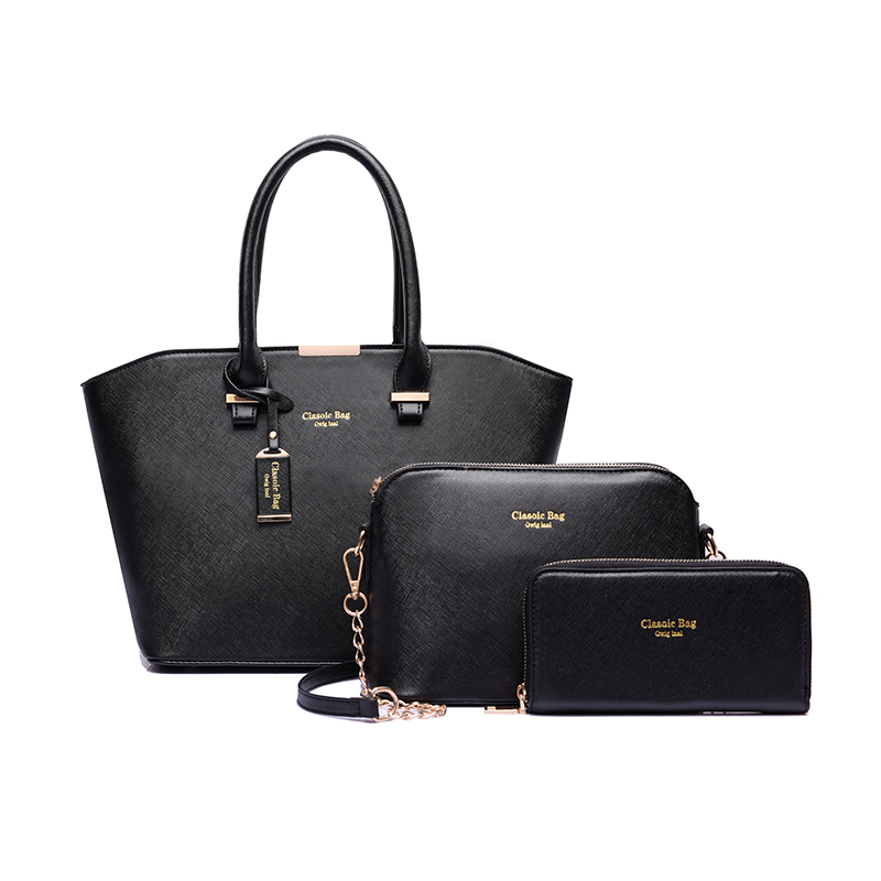 new style luxury ladies handbag set