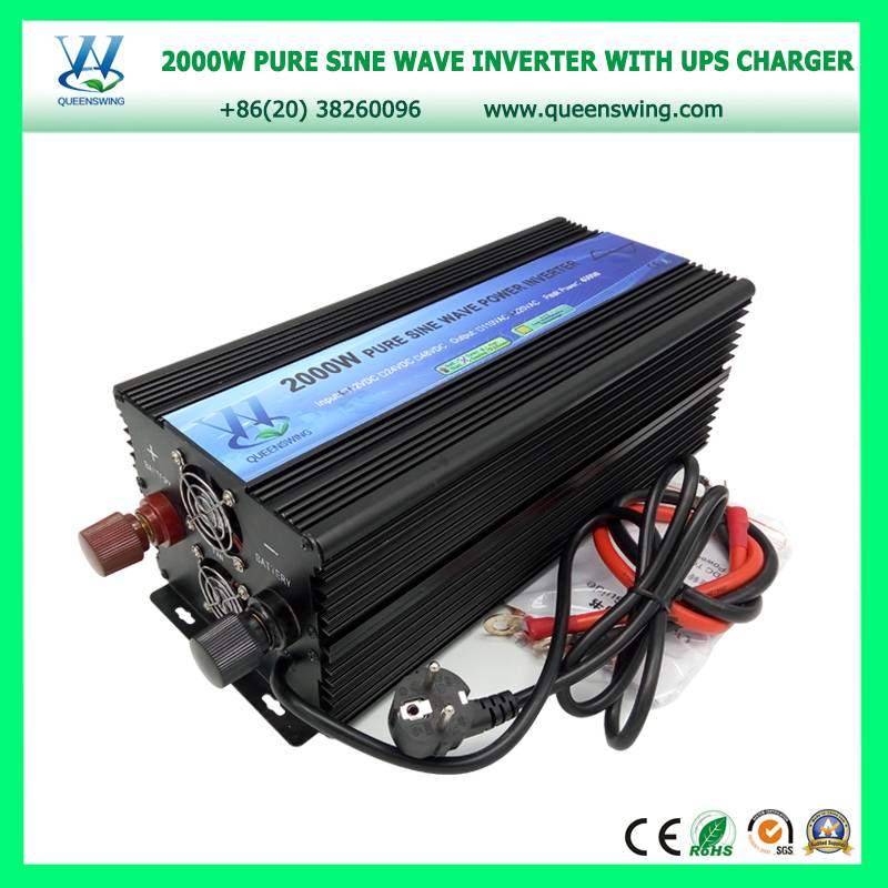 2000W Pure Sine Wave Power Inverter with UPS Charger (QW-P2000UPS)