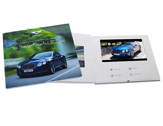 Video Brochure,Video Greeting Card,Video In Print,Video Plus Print,LCD Cards