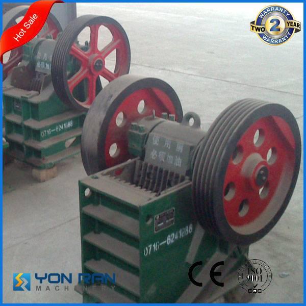 CE ISO certificate mining stone crusher PE jaw crusher 20-35TPH capacity