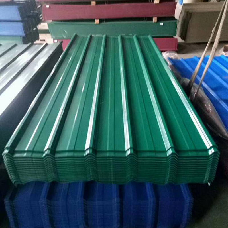 840mm Width Color Coated Box Profiled Metal Roofing Tiles