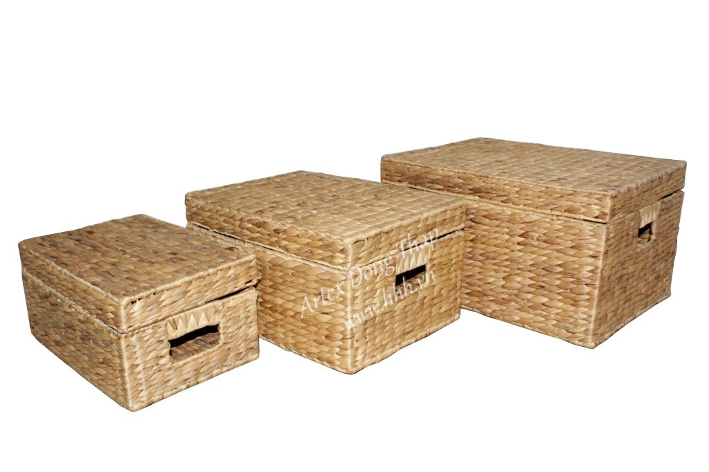 Water hyacinth trunk for home furniture- SD2378A-3NA