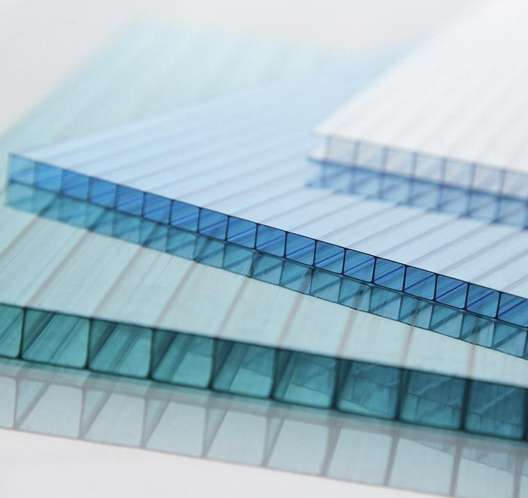 QUANFU high quality polycarbonate twin-wall hollow sheet