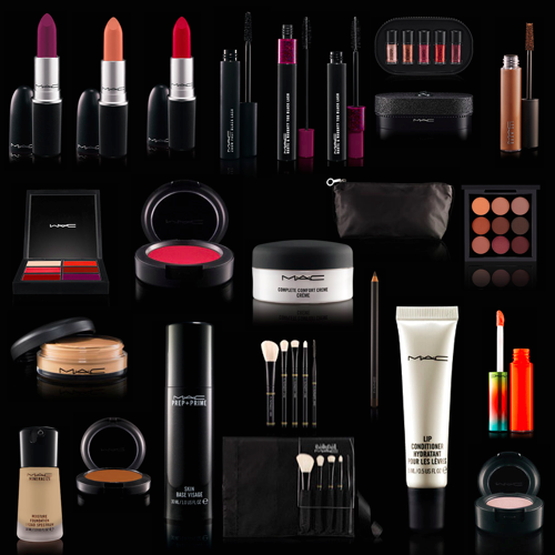 MAC COSMETICS AVAILABLE