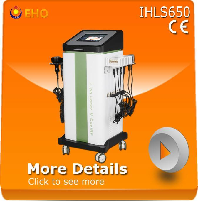 New Vacuum laser diode cavitation lipo laser machine Machine IHLS650