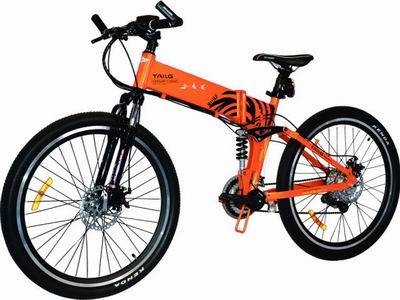 folding Lithium electric bicycle