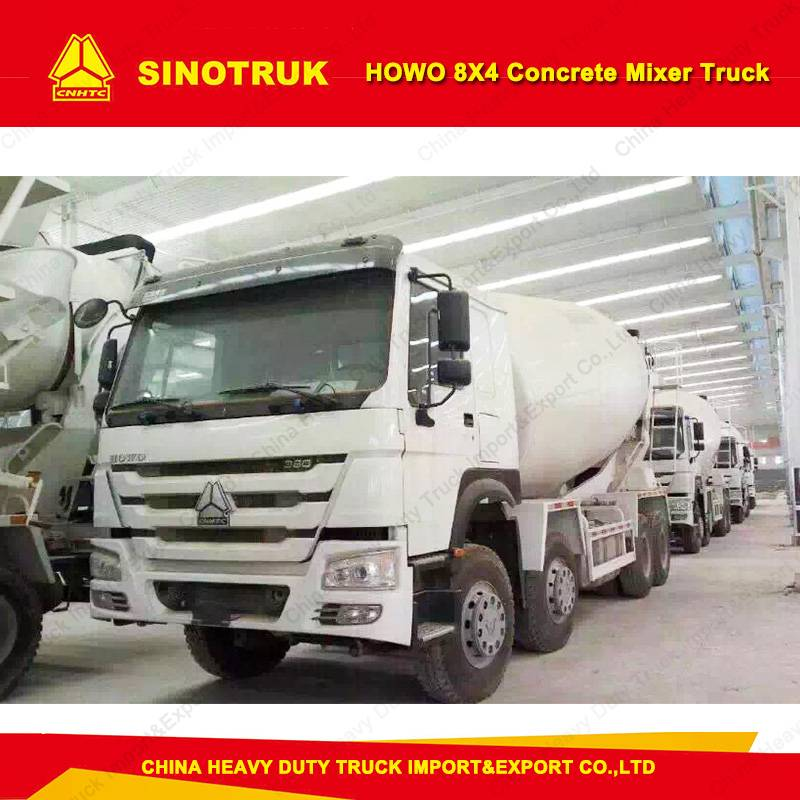 Sinotruk HOWO 12m3 Cement Tank Truck/Concrete Mixer