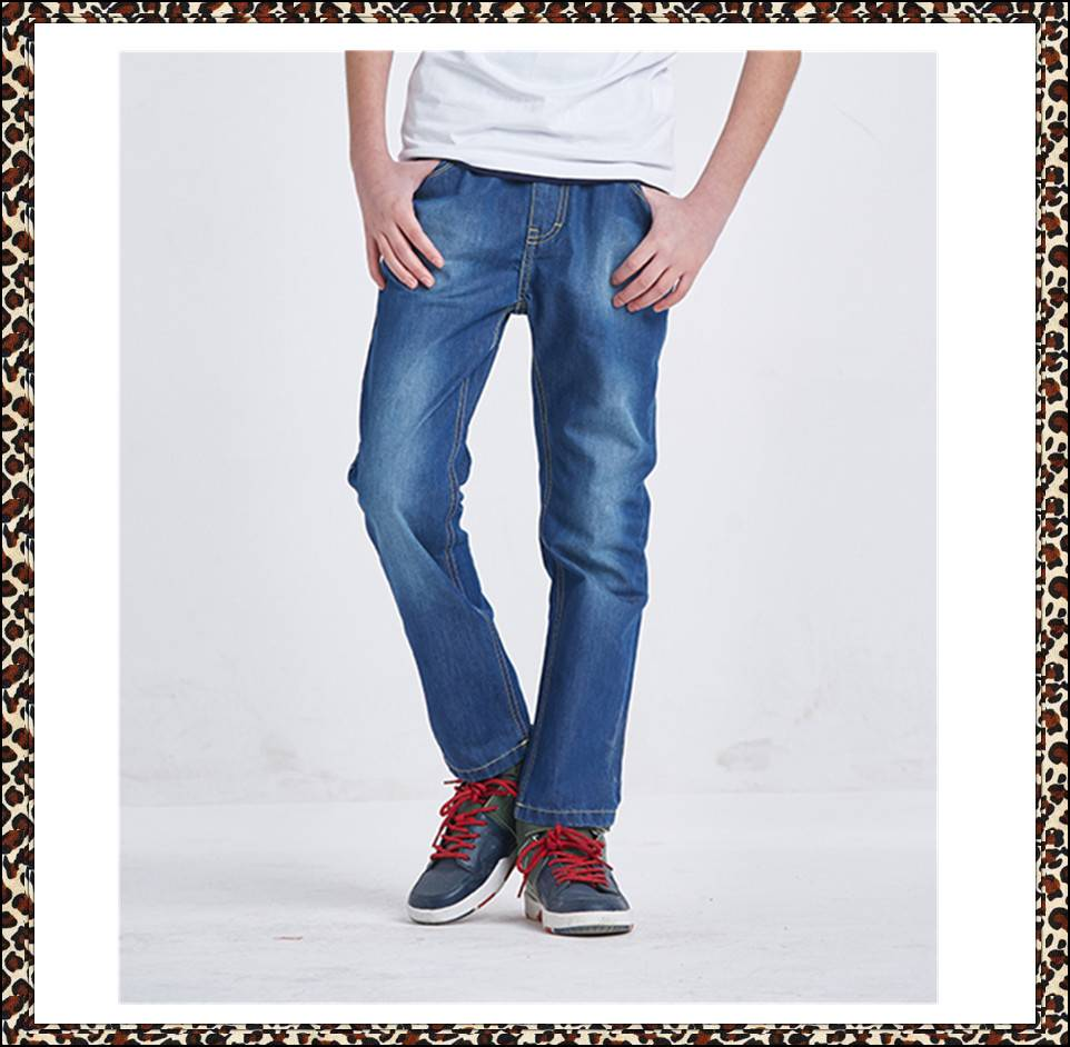 2016 fashion brand new model jeans pants for boy