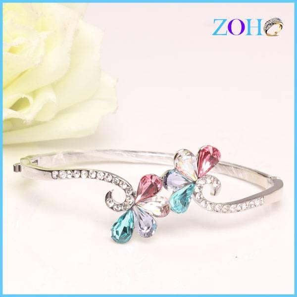 2016 fashion bracelet fashionable joker jewelry flower bangle acceessories