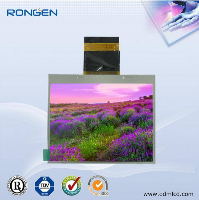 Rg-T350mlqz-01 ODM 3.5inch TFT LCD 450CD/M2 Game Player Screen Sunlight Readable