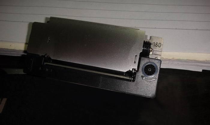 m-160Epson print, movement