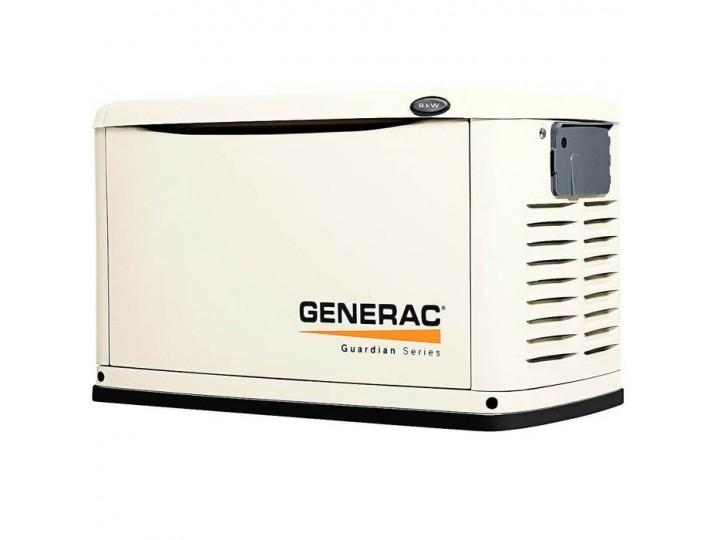 Generac 6245 8kW 8000 Watt Air-Cooled Standby Generator Enclosure