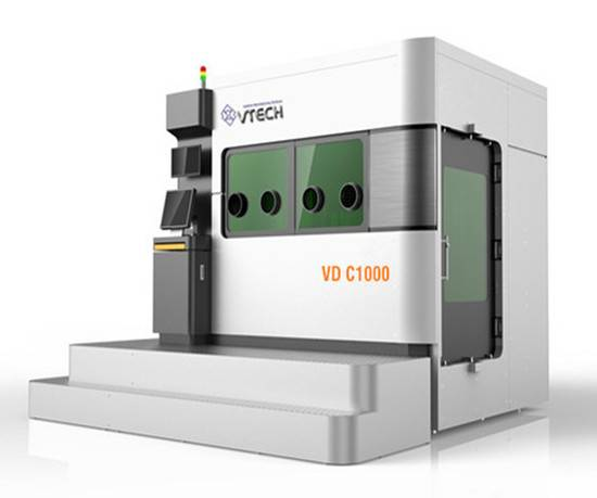 3D printing machine high efficiency large size metal laser rapid prototyping